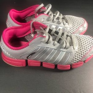 Adidas Climacool Shoes Sz 6. G45611 Gray/Pink